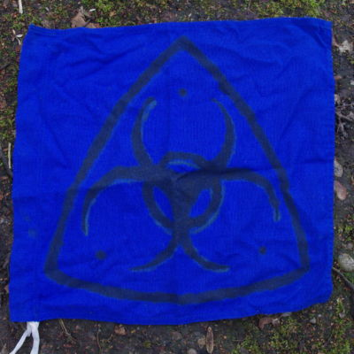 Blue Tech Brigade Flag