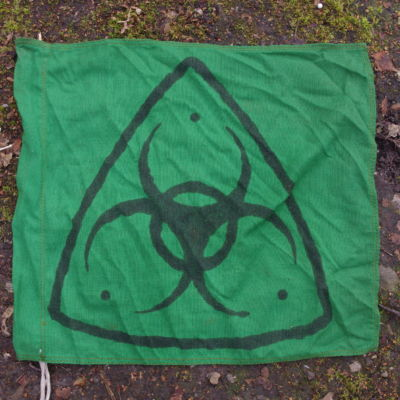 Green Tech Brigade Flag