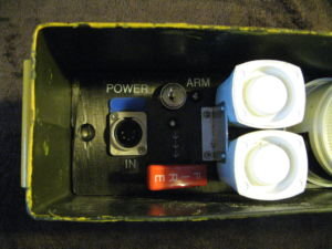 Box 3 - Alarm Mission Box - Remove the Arming Key.
