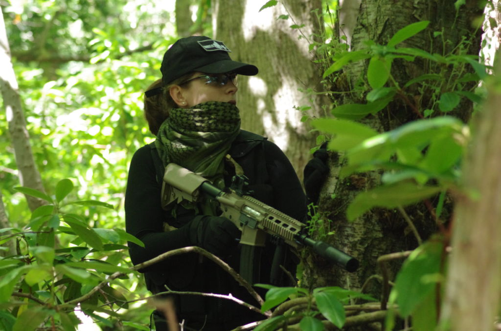 This Girl Can.... play airsoft... too