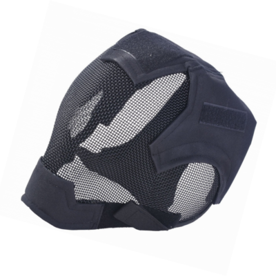 Full face mesh airsoft mask