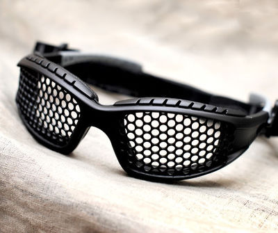 Mesh airsoft glasses made by Heroshark* The best mesh glasses you can get.