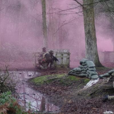 The fog of Pallet Fort war!